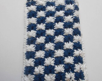 Cases - Cover phone Balckberry classic Navy and white phone