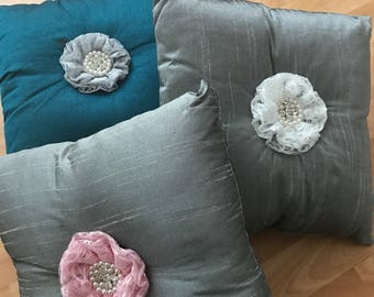 Lace Flower Cushion