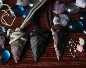 Arrowhead necklaces