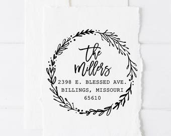 Return Address Stamp, Custom Stamps, Self Inking Address Stamp, Custom Stamp, Personalized Stamp, Personalized Gifts, Address Stamp, Gifts