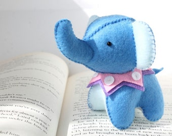 Patterns: Felt Elephant Plush