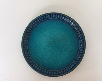 One West German Ceramano Bread plate in the Sapphire pattern