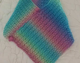 Rainbow Spring - Story Scarf for Adults and Children