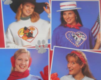 Kitty Love, Leisure Arts, Pattern Leaflet #2779, 1995