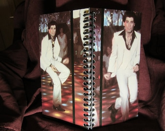 Saturday Night Fever Album Cover Notebook (VHS notebook size)
