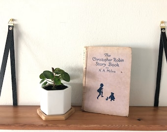 The Christopher Robin Story Book   l  Vintage Children's Book  l   A. A. Milne's Winnie the Pooh  l  1957 Pooh Bear