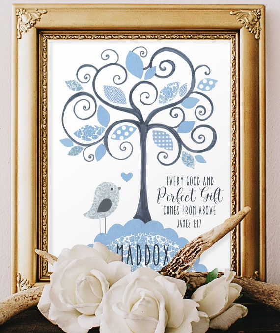 Baby boy baptism gifts baby dedication gift scripture art like this item negle Image collections