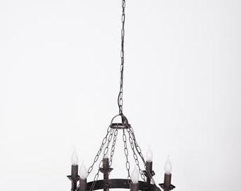 Fakel -  wrought iron chandelier