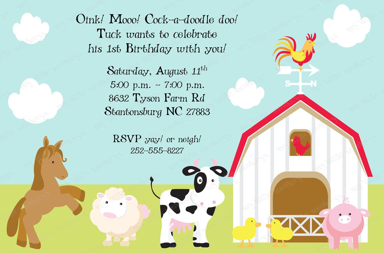 farm invitations - Ideal.vistalist.co