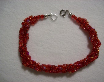 Ruby Red Contessa Bracelet