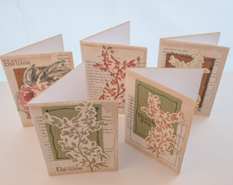 My Signature Card Range - 'Vintage Rose and Branches'