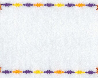 Feathered Star Embroidered Label Customized for Quilts or other Quilted Projects