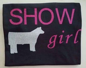 show girl short sleeve shirt