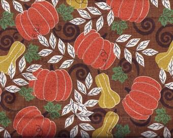 Fall Pumpkin Gourd Curtain Valance