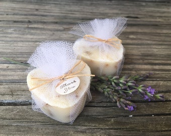 Unique Bridal Shower Favors, Heart Soap Wedding Favors, Bachelorette Party Favors, Lavender Milk Soap Favors 15