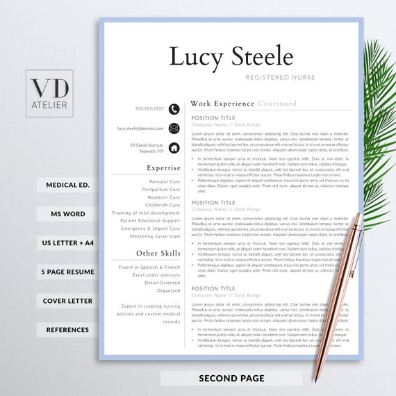 reference page for nursing resume