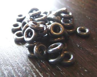 7mm Black O Rings ... 45 ct.
