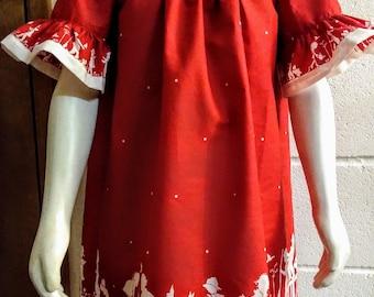 Girl's Red Dress