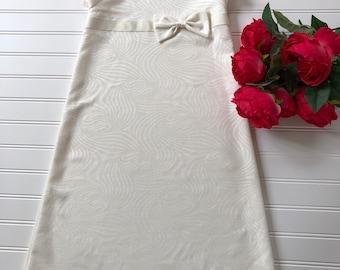 Size 3 beautiful cream dress