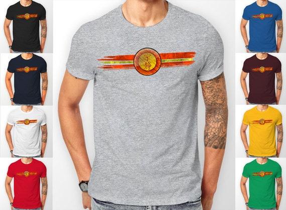 Firefly Serenity crest symbol painted Tee shirt T-Shirt