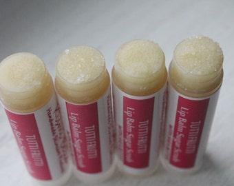 Tutti Frutti Lip Balm Sugar Scrub / Exfoliate Dry Lips / Soften Chapped Lips - Sweet Love Valentine's Day