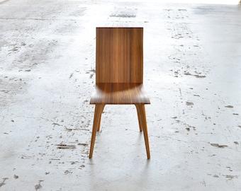 Reclaimed wood chair, modern, comfortable, handmade