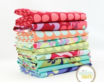 Love- Scrap Bag Quilt Fabric Strips by Amy Butler for Free Spirit Fabrics