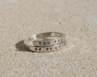 You are the sunshine of my life. Stevie Wonder Sterling Silver, 925, handmade. -Adjustable
