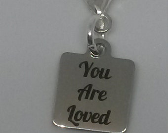 "NEW ~  ""You are loved"" Great Gift ~ CLiP-On~ more Options -JW.org ~ Convention Gift 2018"