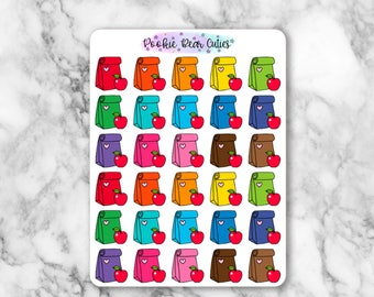 Lunch Bag Stickers -11