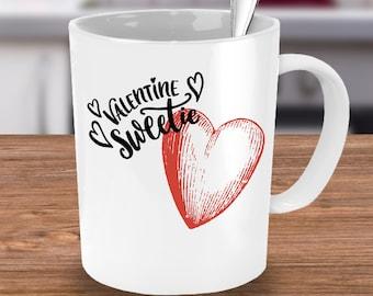 Valentine Sweetie 15 oz Coffee Mug - Valentines day Gift