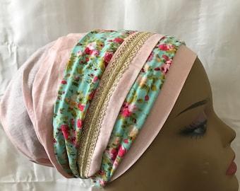head cover, prettied bandana, Tichel