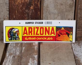 Arizona Grand Canyon - Vintage Bumper Sticker