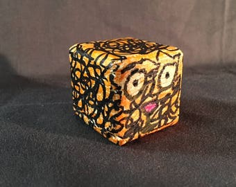 Orange Tiger Block