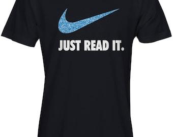Just Read It Glitter WOMEN'S T-Shirt