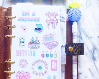 Cute Pastel Dashboard