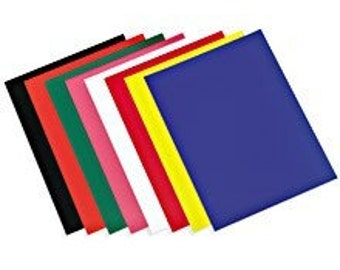 Yellow Static Cling Window Cling Vinyl   1 - 9  x 12  Sheet