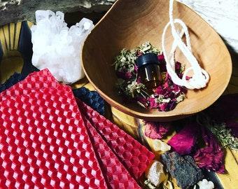 LILITH Goddess Honoring Candle Making Kit