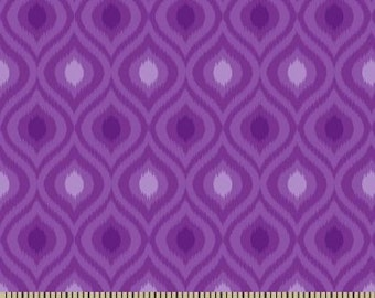 06305 -  Springs Creative Products Quilting Basics Ikat in purple - 1/2  yard