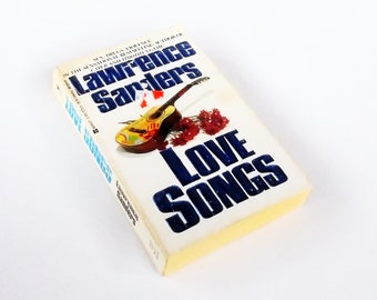 Love Songs: Lawrence Sanders (1989, Berkley) Vintage Mystery Fiction Paperback Book