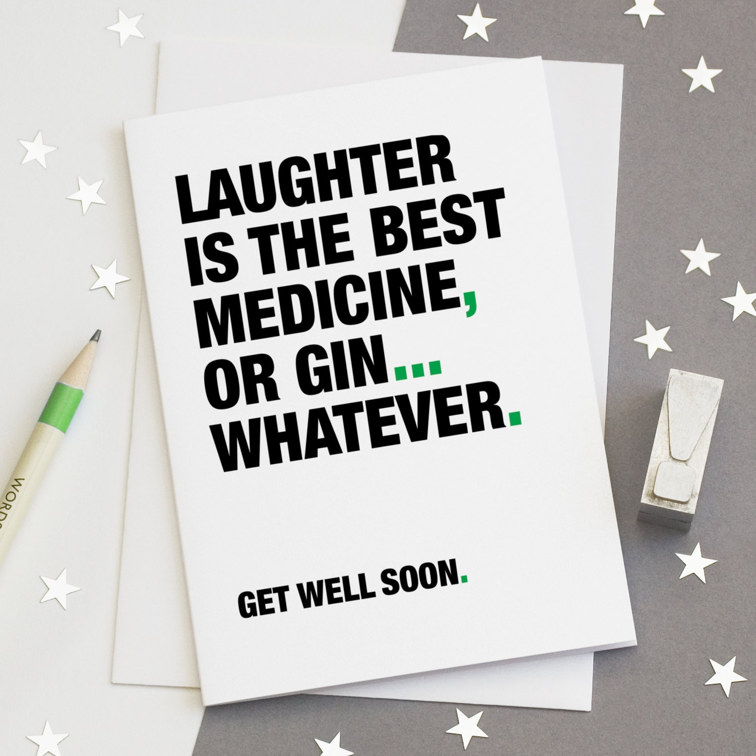 Get Better Quotes Funny: Get Well Soon Card Funny Get Well Card Gin Quotes Gin