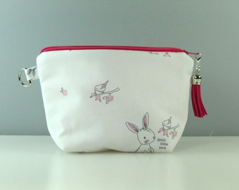 Hello Little Bird Notions Pouch/ Purse