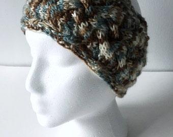 Braided Headband, Winter Headband, Ear Warmer, Multicolor, Braided, Knit Ear Warmer, Knit Headband, Winter Hat, Gift Ideas, Gifts for Her