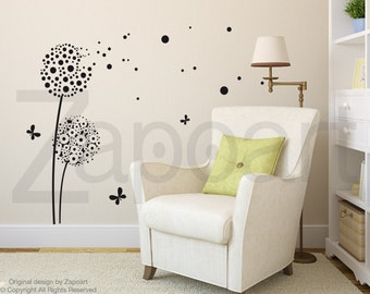Wall Decal Dandelions