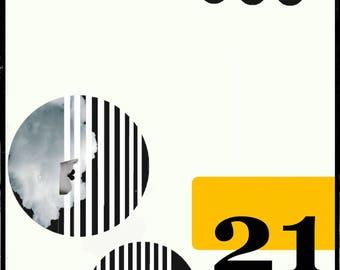 Bauhaus, Kunst, Architektur,  minimalistisch, Kunstwerk, zeitgenössische Kunst, Grafikdesign, Fotokunst, abstrakt, avantgarde, wandbild,2,21
