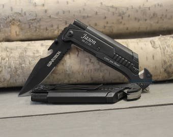 Pocket Knife, Personalized Knife, Husband Gift, Tactical Knife, Gifts for Him, Mens gift, Father's day gift, Anniversary gift, Custom Knife