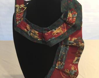 Christmas Necktie Scarf/Necklace