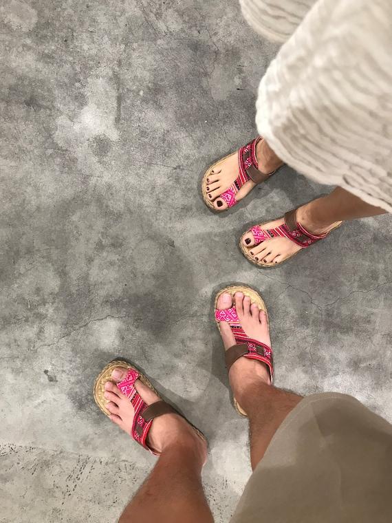 VEGAN style The Casual Unisex Greek Adult Footwear Sandals Flip Piti Gladiator Ethnic Bamboo Summer Flops slippers shoes Beach R1aRwrqxn