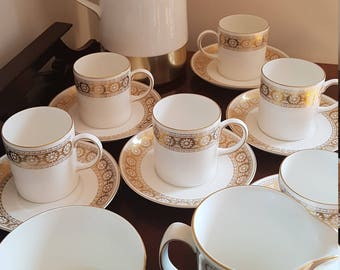Wedgewood Coffee-Tea service in Marguerite Design