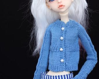 Cardigan  for msd doll chateau k-07/k-11 body